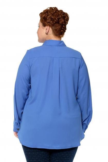 Артикул 17421 - блузка большого размера - вид сзади