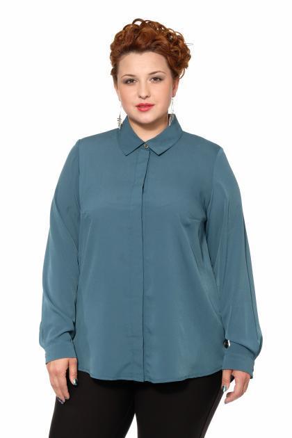 Артикул 17421 - блузка большого размера