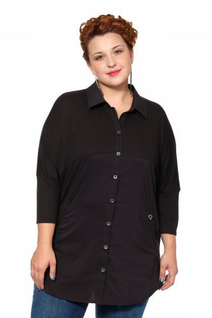 Артикул 17243 - блузка большого размера