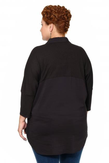 Артикул 17243 - блузка большого размера - вид сзади