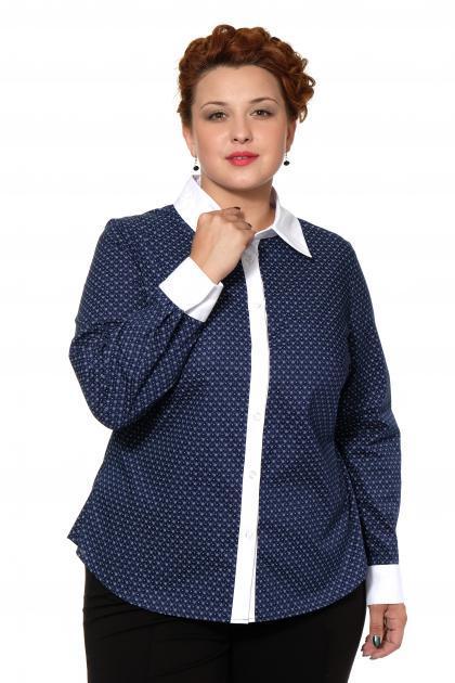 Артикул 16212 - блузка большого размера