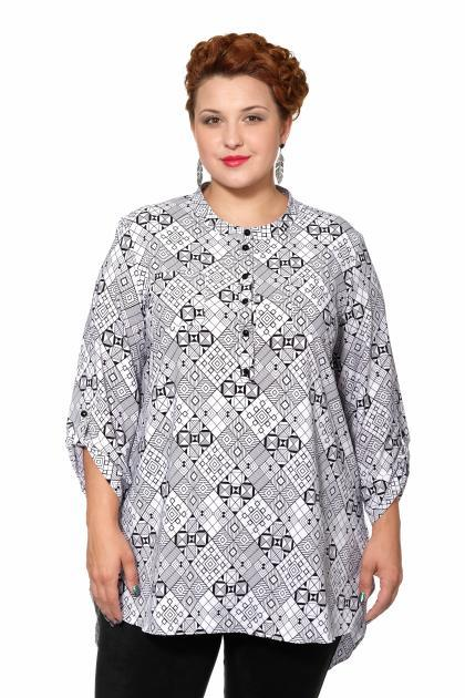 Артикул 15247 - блузка большого размера