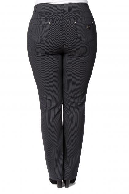 Артикул 202401 - брюки  большого размера - вид сзади