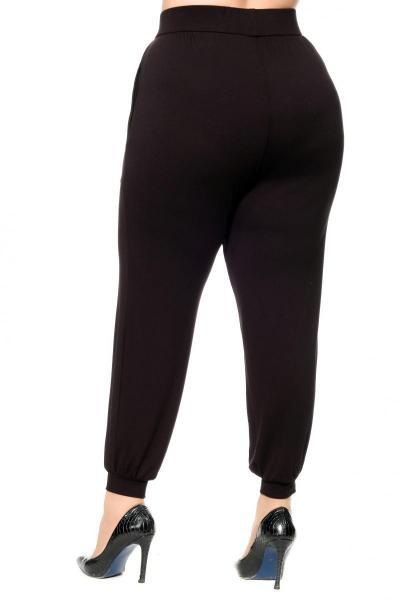 Артикул 305563 - брюки  большого размера - вид сзади