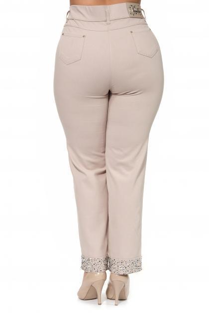 Артикул 259105 - брюки большого размера - вид сзади