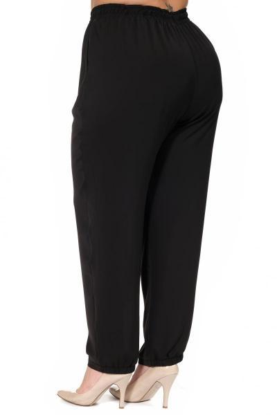 Артикул 219033 - брюки большого размера - вид сзади
