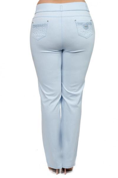 Артикул 302491 - брюки большого размера - вид сзади