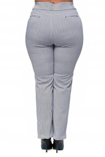Артикул 302616 - брюки большого размера - вид сзади
