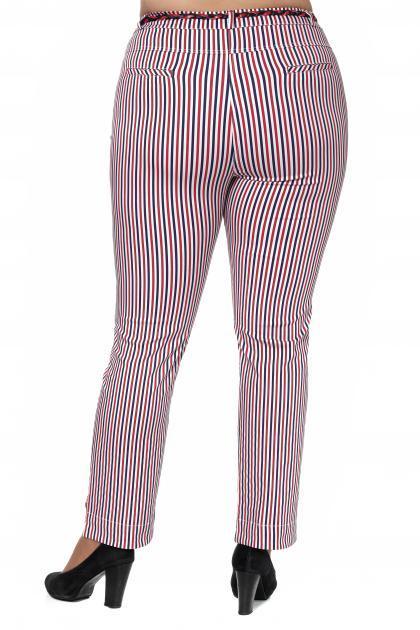 Артикул 307755 - брюки большого размера - вид сзади
