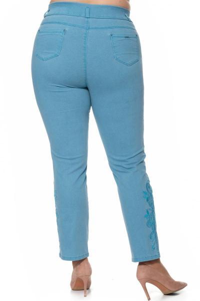 Артикул 302601 - брюки большого размера - вид сзади