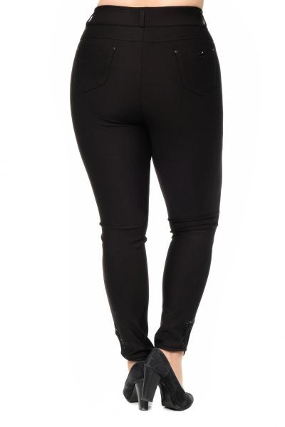 Артикул 301044 - брюки большого размера - вид сзади