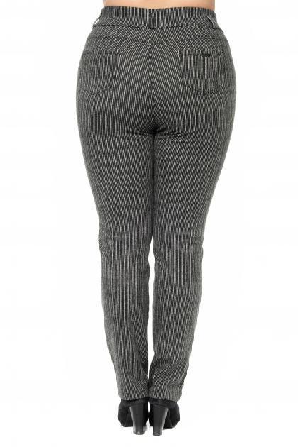 Артикул 301034 - брюки большого размера - вид сзади