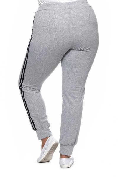 Артикул 687 - брюки большого размера - вид сзади