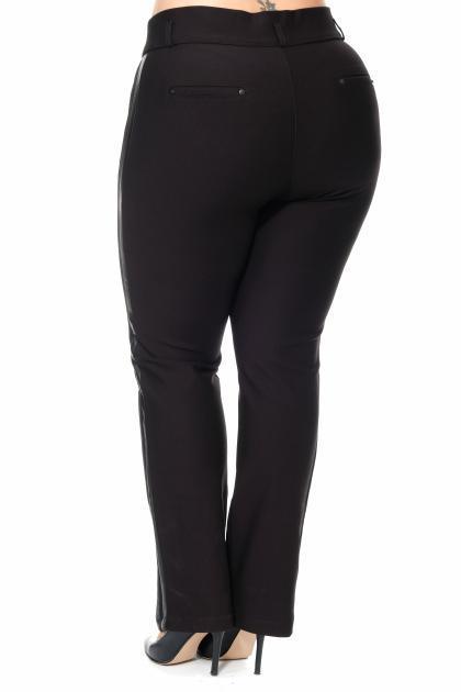 Артикул 308479 - брюки большого размера - вид сзади