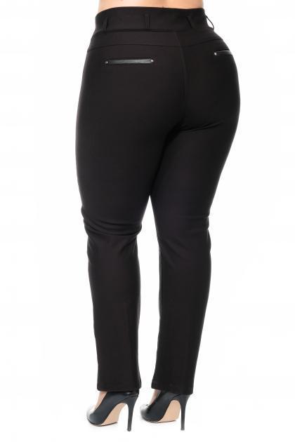 Артикул 308474 - брюки большого размера - вид сзади