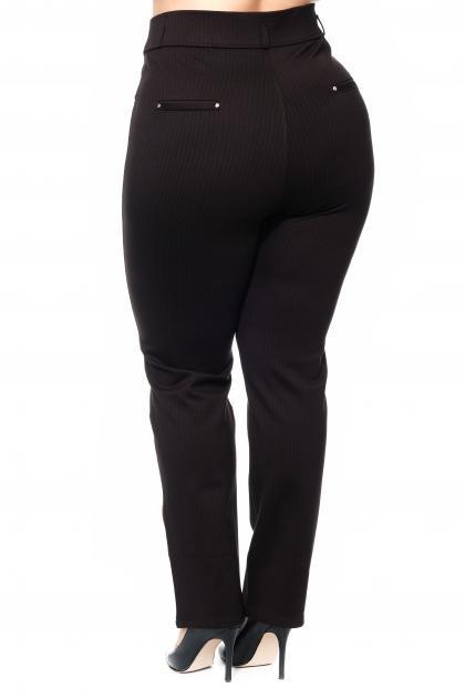 Артикул 301056 - брюки большого размера - вид сзади