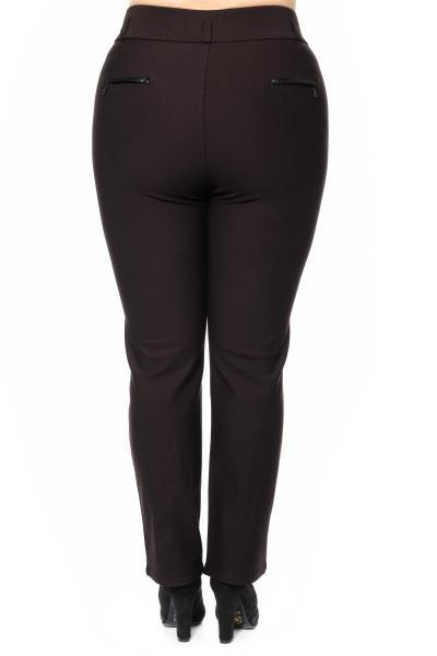 Артикул 302750 - брюки большого размера - вид сзади