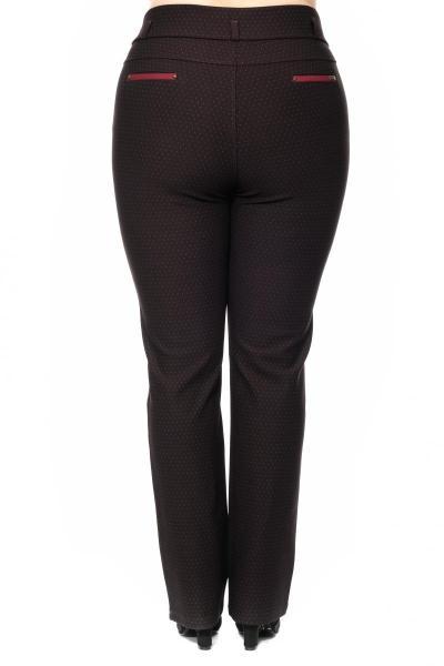 Артикул 302757 - брюки большого размера - вид сзади