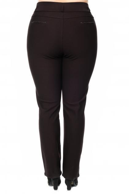 Артикул 302434 - брюки большого размера - вид сзади