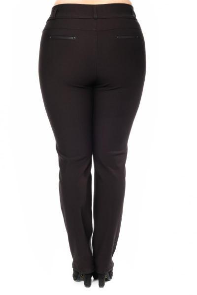 Артикул 300230 - брюки большого размера - вид сзади