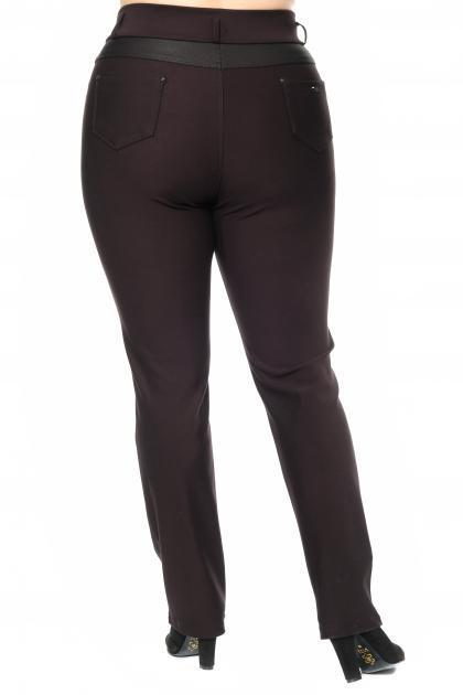 Артикул 302736 - брюки большого размера - вид сзади