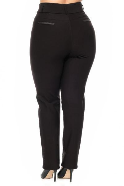 Артикул 301100 - брюки большого размера - вид сзади