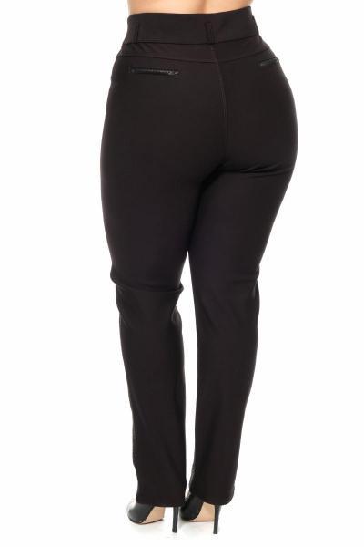 Артикул 301113 - брюки большого размера - вид сзади