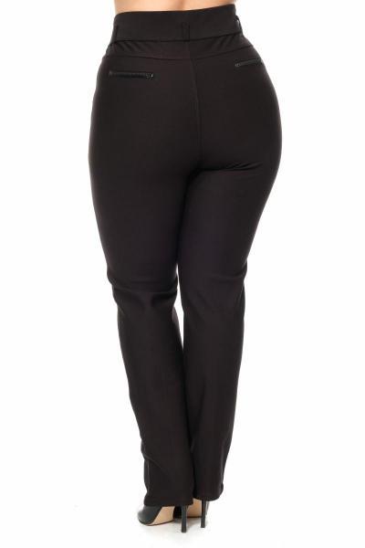 Артикул 301106 - брюки большого размера - вид сзади