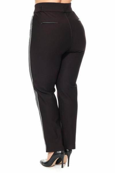 Артикул 301101 - брюки большого размера - вид сзади