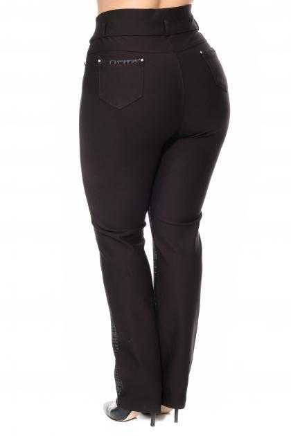 Артикул 307561 - брюки большого размера - вид сзади