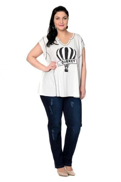 Артикул 304124-1 - джинсы большого размера