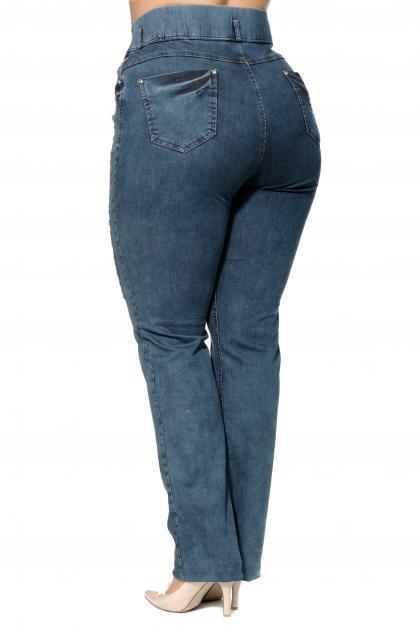 Артикул 300501 - джинсы большого размера - вид сзади