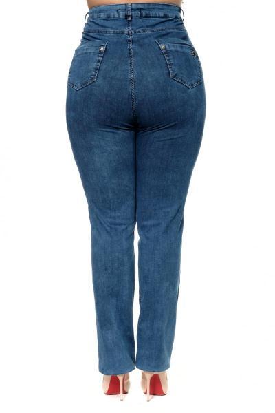 Артикул 300503 - джинсы большого размера - вид сзади