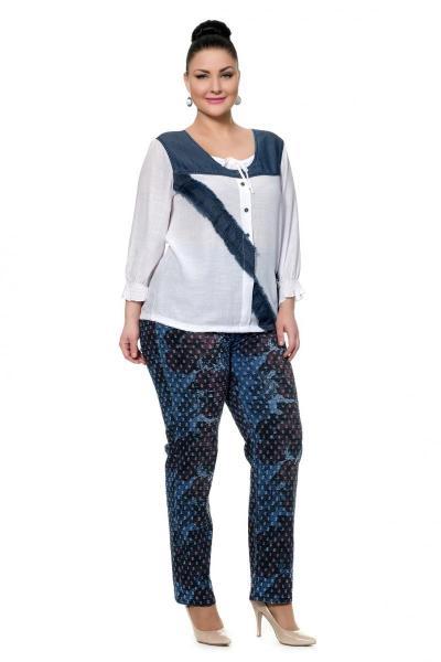Артикул 302534 - джинсы большого размера