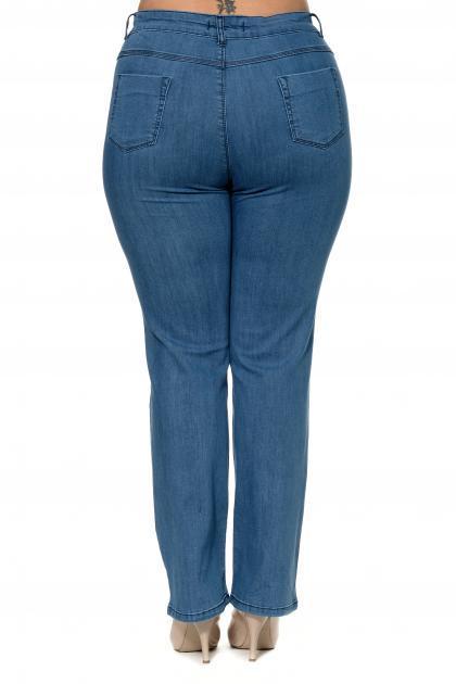 Артикул 301934 - джинсы большого размера - вид сзади