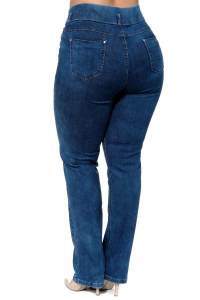 Артикул 300615 - джинсы большого размера - вид сзади