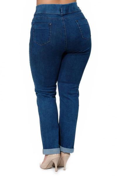 Артикул 300512 - джинсы большого размера - вид сзади