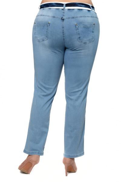 Артикул 304061 - джинсы большого размера - вид сзади