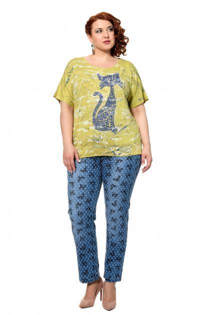 Артикул 302610 - джинсы большого размера