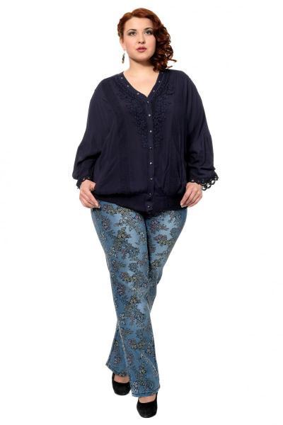 Артикул 302481 - джинсы большого размера