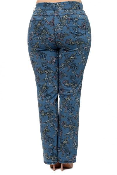 Артикул 302481 - джинсы большого размера - вид сзади