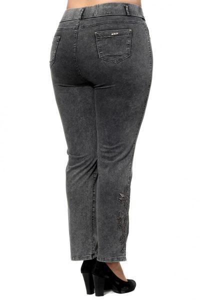 Артикул 302601 - джинсы большого размера - вид сзади