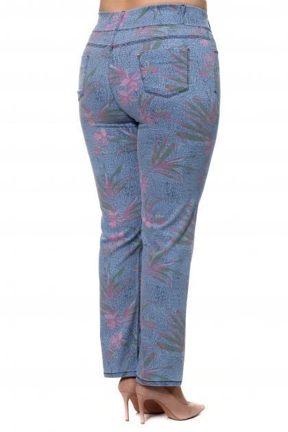 Артикул 302969-1 - джинсы большого размера - вид сзади
