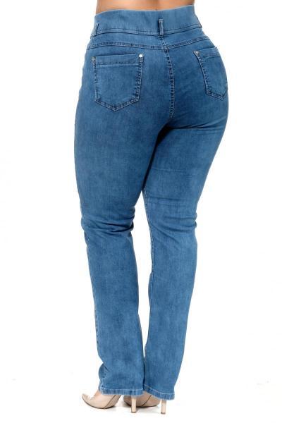 Артикул 300613 - джинсы большого размера - вид сзади