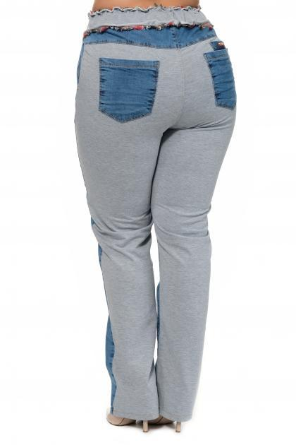 Артикул 304126 - джинсы большого размера - вид сзади