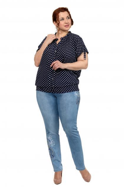 Артикул 300635 - джинсы большого размера