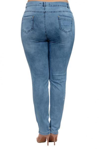 Артикул 300635 - джинсы большого размера - вид сзади