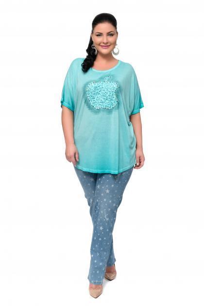 Артикул 302408-1 - джинсы большого размера