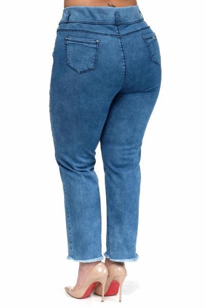 Артикул 302615 - джинсы большого размера - вид сзади