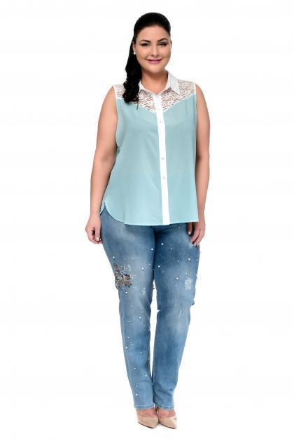 Артикул 302309 - джинсы большого размера